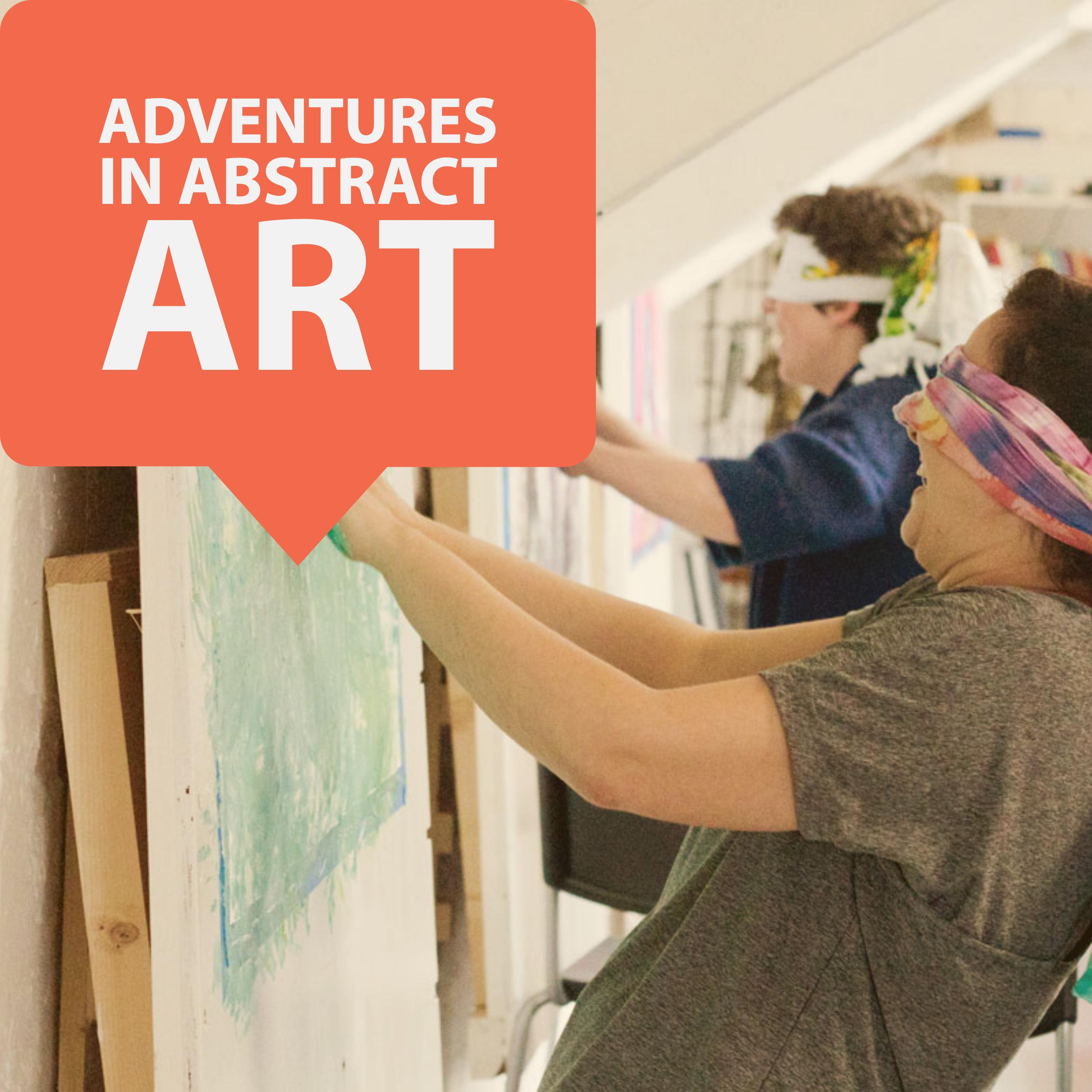 Adventures in Abstract Art, Dublin, 14-15 April (Easter W/end)
