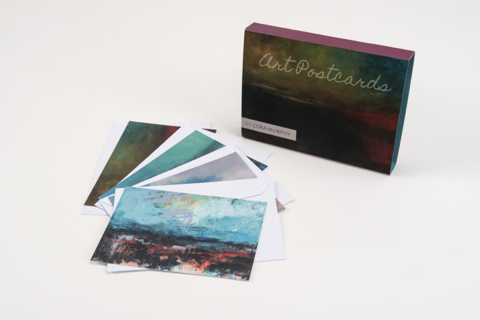 Contemporary Landscapes from Ireland Art Postcards - 12 Notelets & Envelopes